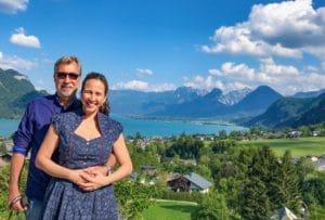 Montanhas St Gilgen Áustria