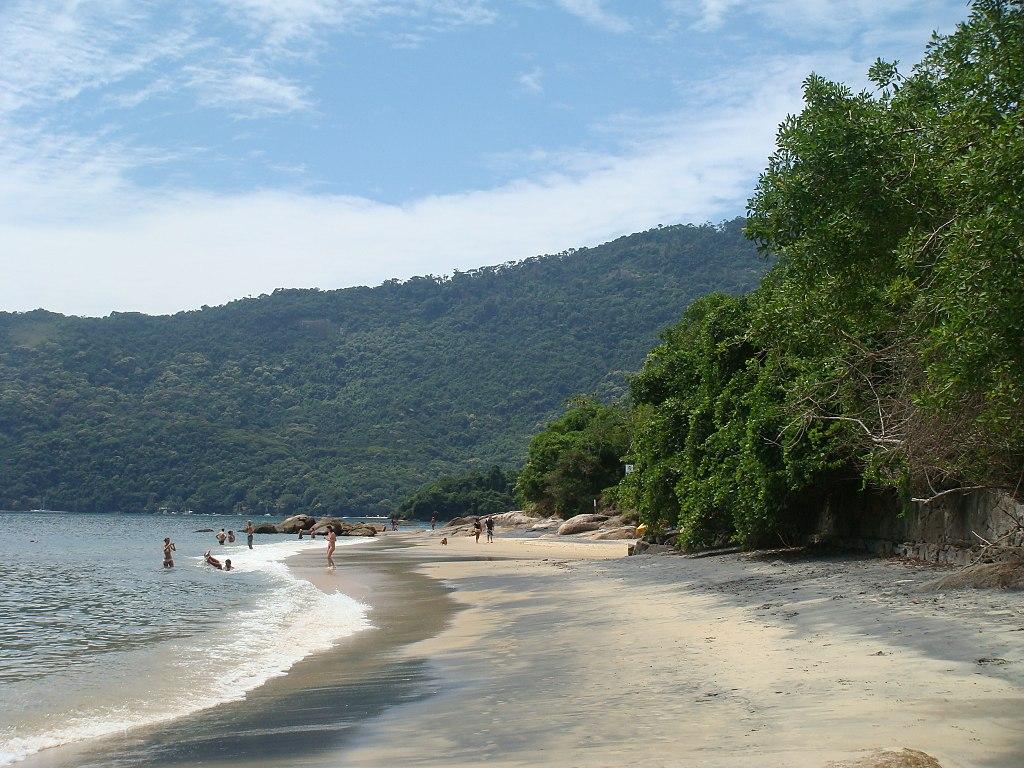 Praia Preta - Abraão - Ilha Grande