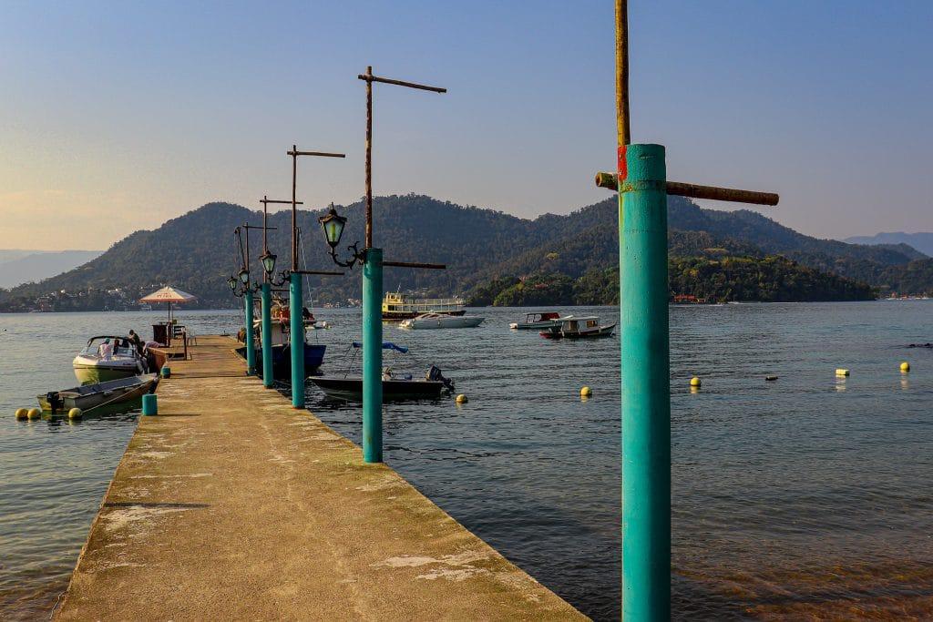 Pier do Restaurante Canto das Canoas - Gipoia - Angra 4