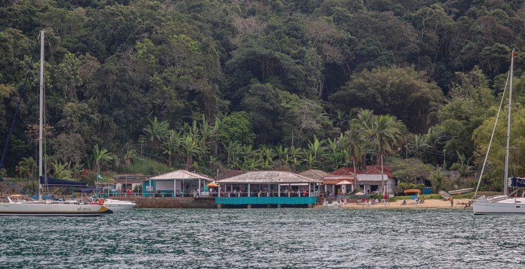 Bar do Luiz Rosa - Praia das Flechas -  Ilha da Gipoia - Angra dos Reis.