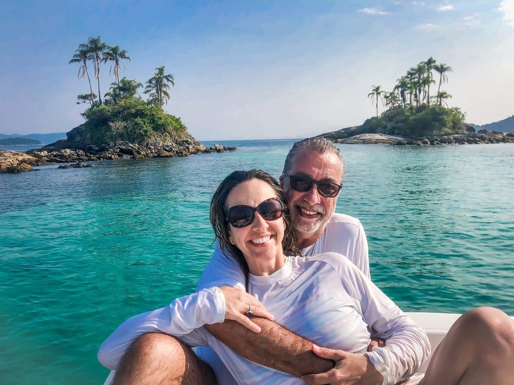 Ilhas Botinas - Angra dos Reis - Casal Giramundo