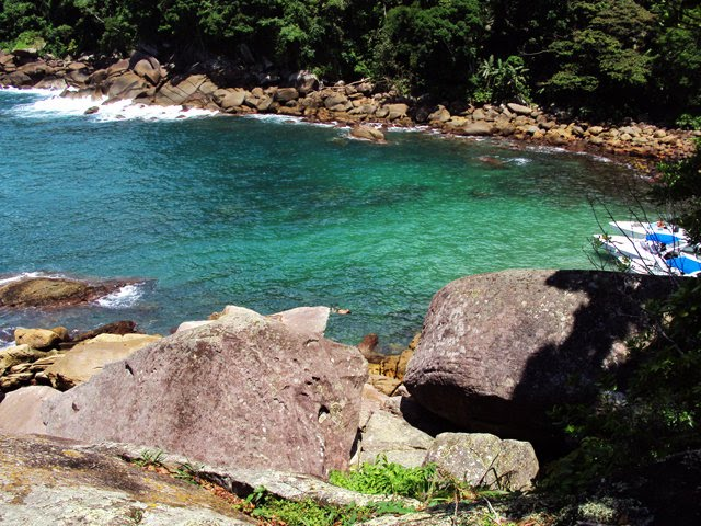 Praia do Caxadaço - Ilha Grande - Angra dos Reis 2