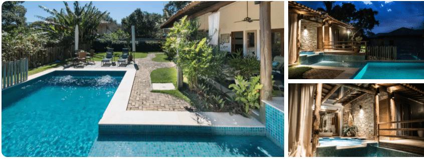 Casas com piscina para alugar em Búzios