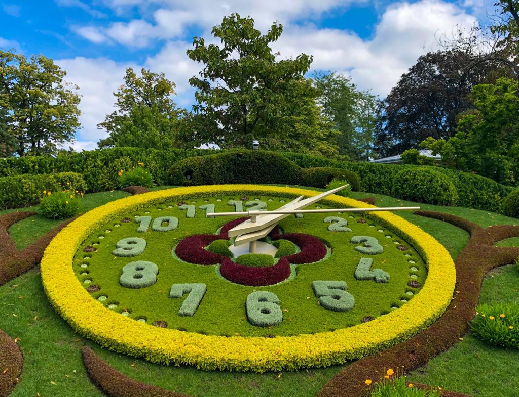 Relógio das Flores de Genebra