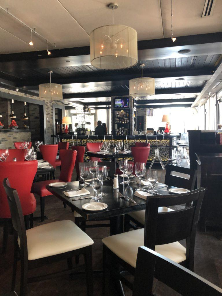 Salão de restaurante em Miami Beach