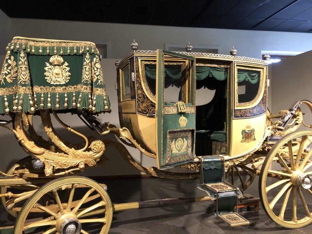 Carruagem utilizada por Dom Pedro II