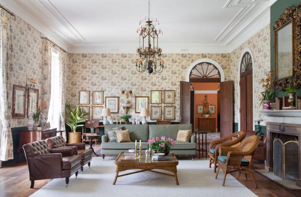 Saleta do Hotel Casa Marambaia
